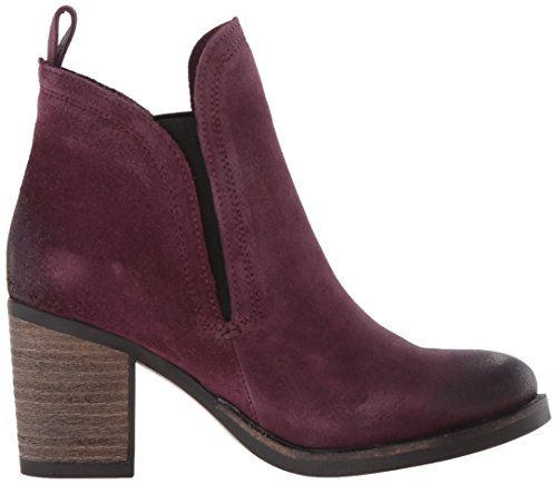 Bos. & Co. Women's Belfield Ankle Boot, Taupe Plum Oil Suede