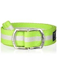 NAUTICA 08-8441-3 Cinturón para Hombre, color Verde, Talla Única