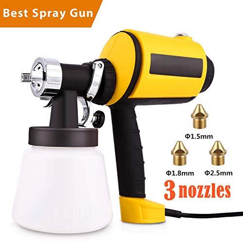 Voluker Advanced Electric Spray Gun Home Paint Sprayer HVLP Sprayer...