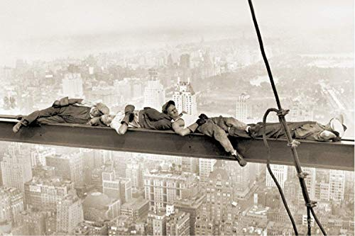 - Studio B  Sleeping Above Manhattan Poster