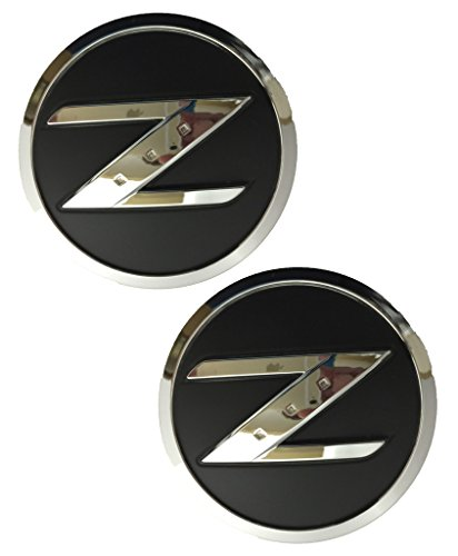 Nissan 350z Emblem - N-FDZ X2 Nissan 350Z / 370Z - Z Fender Emblem / Badge / Decal Replaces OEM 63890-CD10A