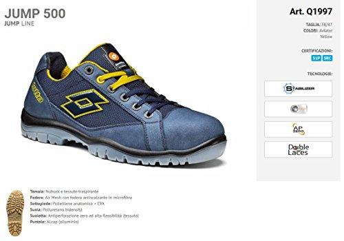 lotto starter Juego talla 44 Indust par zapato 1 s1p jump 500 5FdcZ6q