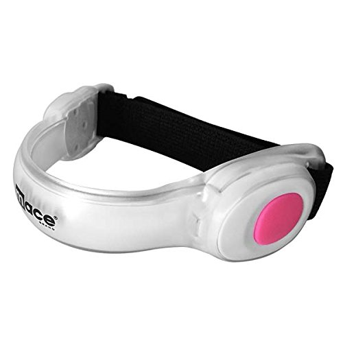 Mace Brand LED Adjustable Safety Band LED Safety Gear Adjustable Safety Band, Pink by Mace (Image #2)