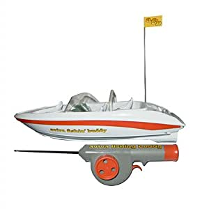 Fishin 39 buddy remote control fish catching for Fish catching rc boat