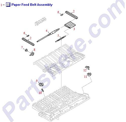 HP RG5-3526-020CN PAPER FEED BELT ASSY - LJ 5000 ()