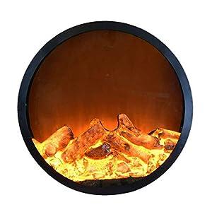 Camino elettrico Camino elettrico a parete Stufa a infrarossi riscaldamento realistici effetti di fiamma 3D luminosità e… 418nKE6zSEL. SS300