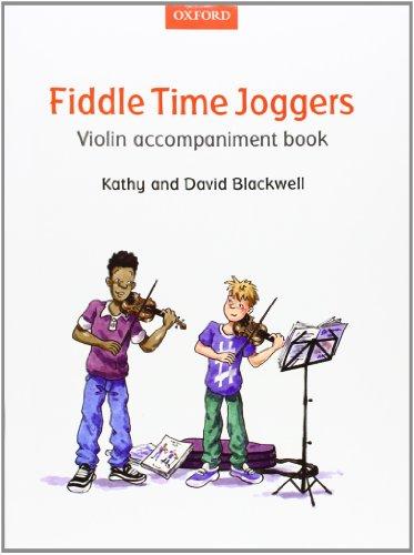- Fiddle Time Joggers Violin Accompaniment Book