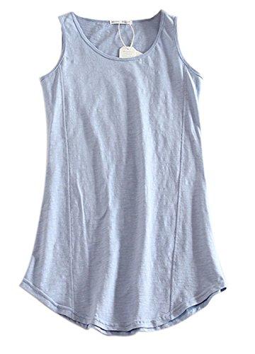 Vogue of Eden - Camiseta sin mangas - para mujer azul celeste