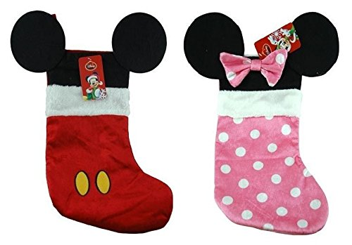 - Disney Mickey & Minnie Mouse Ear Stocking 16