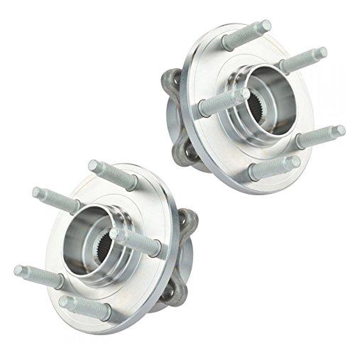 Front Wheel Hub & Bearing Left & Right Pair Set for Ford Taurus Flex MKS MKT - Ford Taurus Wheel Bearing