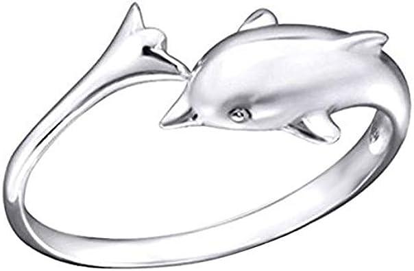 ANELLO Delfino argento 925* sterling SILVER