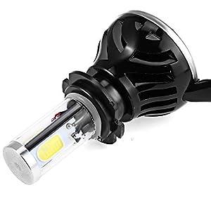 CARWORD 2 Set 40W 4000LM H7 LED Light Headlight Vehicle Car Conversion Bulb Kit 6000K White