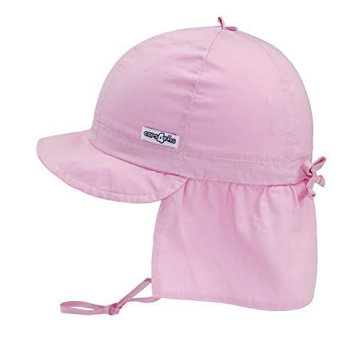 1ceff394c EveryHead Fiebig Sombrero De La Protección del Cuello Gorros con Cintas  Unión Cabrito Casquillo Verano Gorra