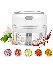 Beauty Nymph Mini Electric Food Chopper Vegetable Garlic Chopper Mincer Blender Kitchen Gadgets Food Processor (100ml)
