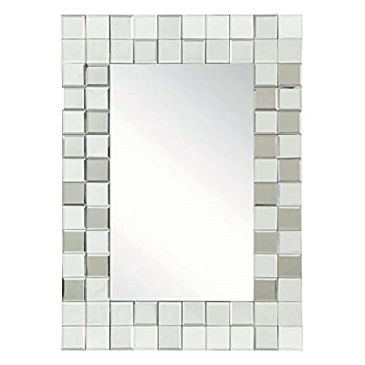 Coaster Furniture Checkered Wall Mirror - 27.5W x 38.5H in.