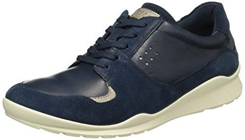 Ecco Damen Mobile Iii Sneakers Blau (50017marine / Moon Rock)