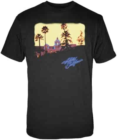 FEA Men's Eagles Hotel California Short Sleeve T-Shirt