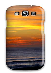 Alex D. Ulrich Snap On Hard Case Cover Sunset Earth Nature Sunset Protector For Galaxy S3