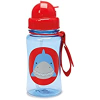 Skip Hop Forget Me Not Kid Straw Bottle, Snazzy Shark