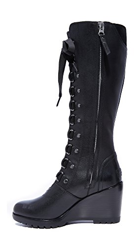 Sorel Hours 8 M US Tall B Wedge Women's After Black Boots 5 rEq0rHx