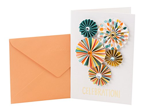 Hallmark Signature Birthday Greeting Card (Paper Pinwheels)