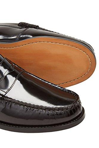 Next Hombre Mocasines Charol Corte Regular Negro EU 47: Amazon.es: Zapatos y complementos