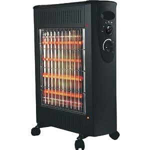 Optimus H-5300BK Quartz and convection Radiant Heater