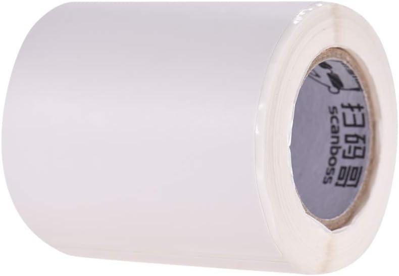 compatible avec imprimante BT Thermal 57x70mm 180 sheets Aibecy Thermope Rouleau de papier d/étiquettes autocollant