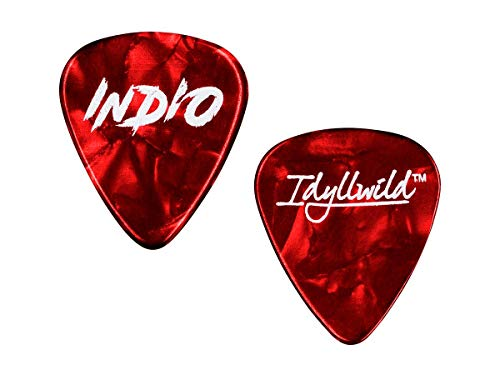Monoprice Light Guitar Picks - 0.50mm - 12 pack - Red | Available in light 0.50mm, medium 0.71mm, and heavy 0.88mm sizes - Stage Right Series (Arsenal Guitar Picks)