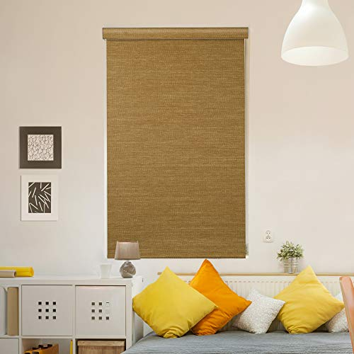 GoDear Design Modern Free Stop Cordless Roller Shade with Cassette Valacne, 23