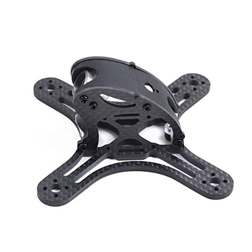 (HITSAN Gofly-RC Falcon CP90 Spare Part 95mm Carbon Fiber Frame Kit for RC FPV Racing Drone One Piece)