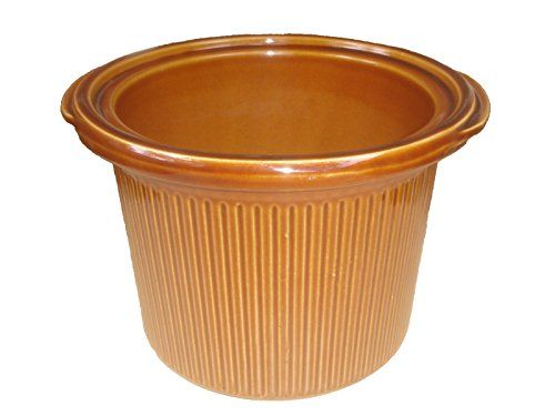 Rival Crock Pot Slow Cooker Models 3150 & 3150/2 Replacement Stoneware Insert 3 1/2 Quart Brown