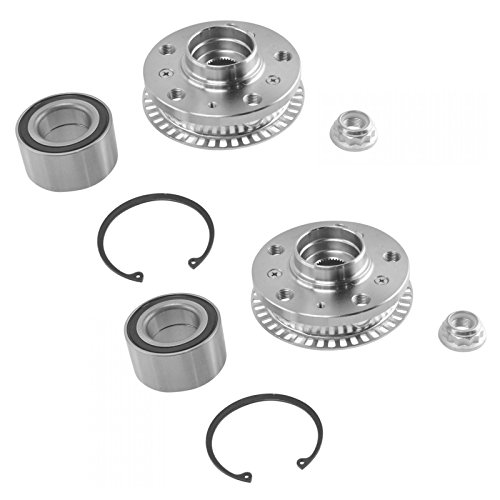 Front Wheel Bearing & Hub Kit LH & RH Side Kit Pair Set for VW Volkswagen