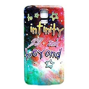 Infiniti Galaxy Pattern Thin Hard Case Cover for Samsung Galaxy S5 I9600