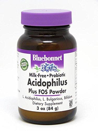 BlueBonnet Probiotic Acidophilus Plus FOS Powder, 3 (Acidophilus Milk)
