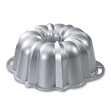 Nordic Ware Platinum Collection Anniversary 10- to 15-Cup Bundt Pan