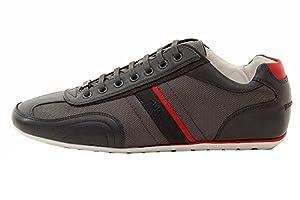 Hugo Boss Men's Thatoz Fashion Dark Grey Sneakers Shoes Sz: 13
