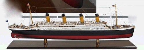 Authentic Models Titanic Nautical Ship Steamer