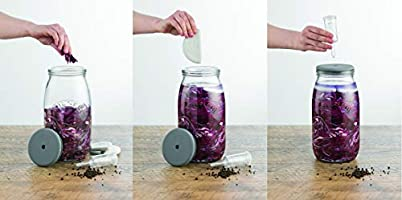 Compra Kilner – Set de fermentación para chucrut/Kimchi/pepinillos ...
