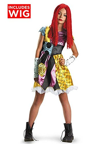 Sally Tween Costume - Large (Kids Nightmare Before Christmas Costume)
