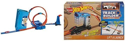 Hot Wheels - Pack Caja Multiloopings + Accesorios propulsores ...