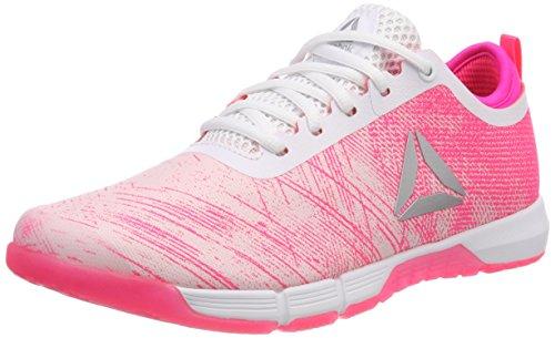 Pinkacid Speed Reebok Pinkwhitesilver Fitnessschuhe Tr Pale Her Damen Pink 0RwBqxA