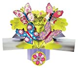 "6½"" Pop ~ Up Card ~ Happy Birthday Card ~ Butterflies"