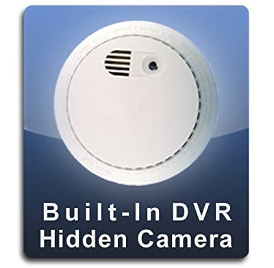 PalmVID DVR PRO Smoke Detector Hidden Camera Spy Camera with Adjustable View from PalmVID Video Cameras