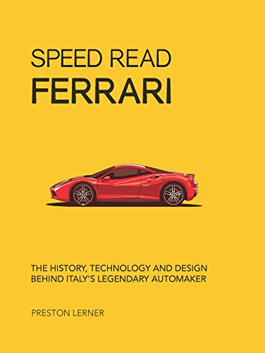 Used, Speed Read Ferrari: The History, Technology and Design for sale  Delivered anywhere in USA
