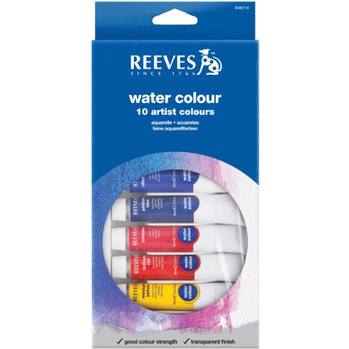 Reeves 12 Pack Water Color Tube product image