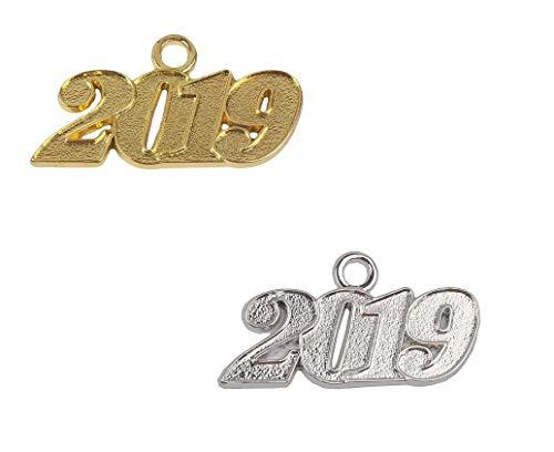 AMOBESTER 2019 Year Charms for Graduation Tassel Charm Pendants for Graduation