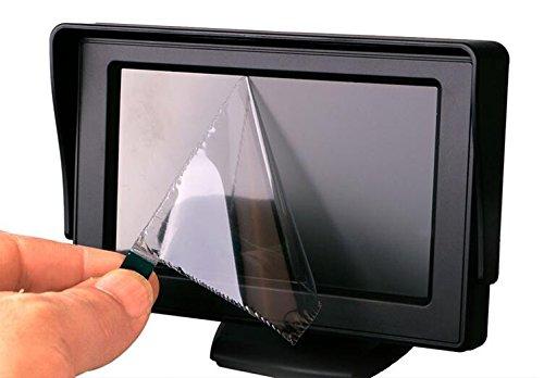 BUS Sistema di telecamere retromarcia per veicoli 4Pin 4.3 Telecamera a colori HD 4 Telecamera a LED per visione notturna a infrarossi impermeabile con kit 5M Calbe per RV Turck// Trailer