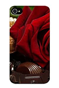 Ideal Bewailhyper Case Cover For Iphone 4/4s(chocolate (29)), Protective Stylish Case