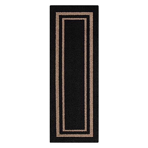 (Mainstays Frame Border Area Rugs or Runner 1'9